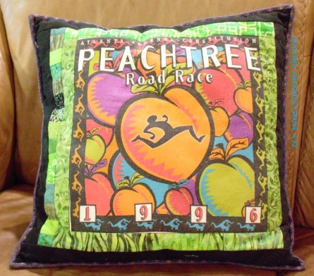 Peachtree Road Race Pillow
